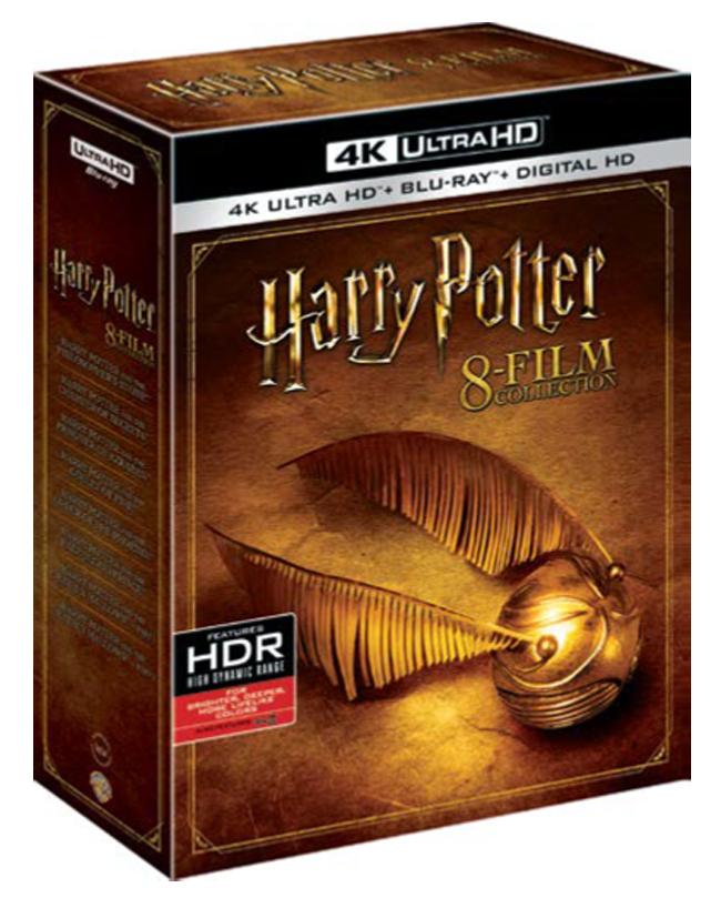 Harry Potter  4K Cofanetto