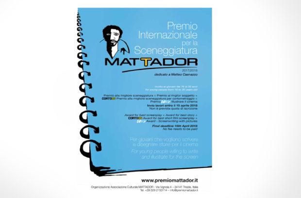 Premio Internazionale per la Sceneggiatura Mattador, parte la nuova edizione
