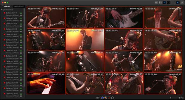 Softron MovieRecorder, 16 canali HD su iMac Pro