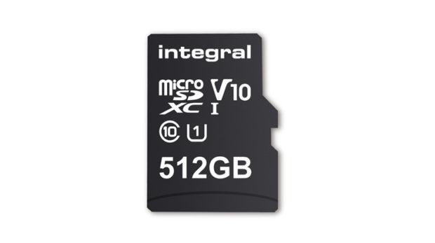 La prima MicroSD da 512 GB è di Integral Memory