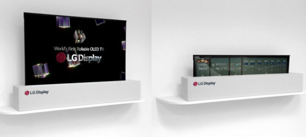 LG, pronto per il CES l'OLED 4K che si arrotola