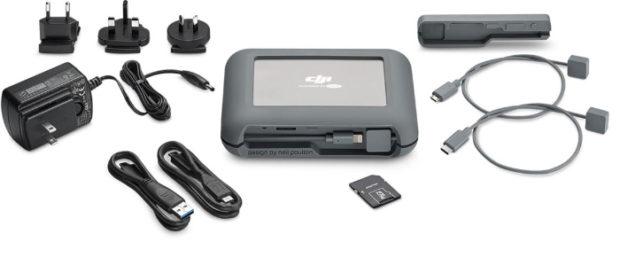 LaCie DJI Copilot, backup senza PC
