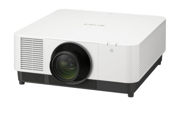 Sony all'ISE con 5 videoproiettori laser