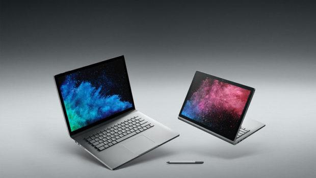 Microsoft apre i preorder per Surface Book 2