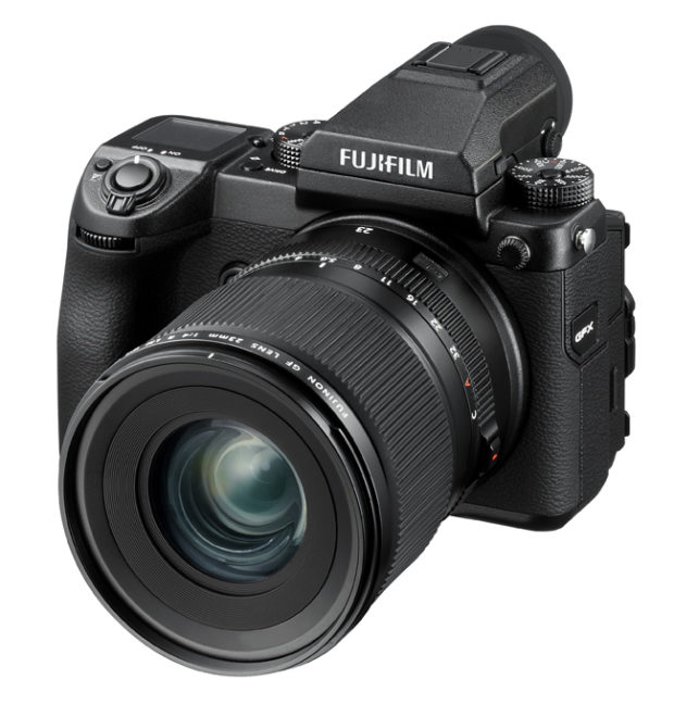 Fujifilm GFX 50S si rinnova via software