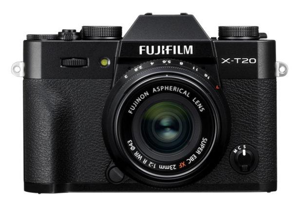 Fujifilm X-T20, nuovo aggiornamento software