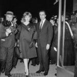 Monica Vitti con Antonioni ai Nastri d'Argento per La Notte - Archivio storico Luce