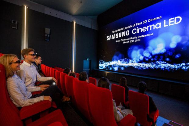 Samsung CinemaLED, il cinema senza proiettore arriva in Europa