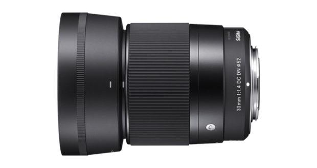 Sigma, il 30mm F1.4 DC DN Contemporary per Sony E-mount si aggiorna