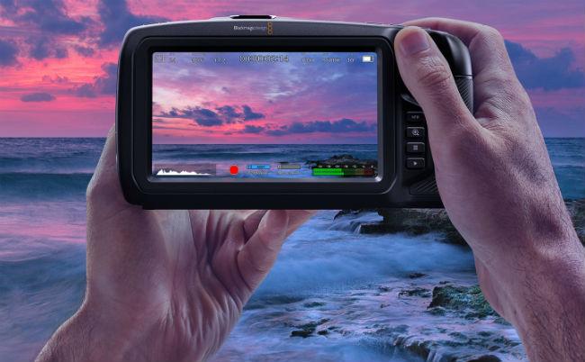 Blackmagic Pocket Cinema Camera 4K Touchscreen