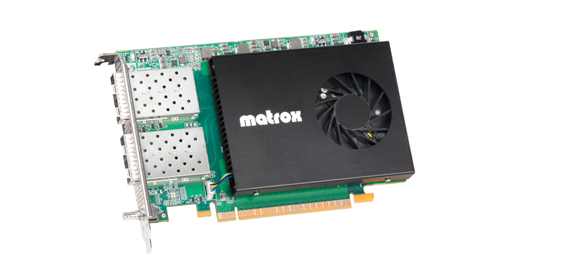 Matrox, streaming in 4K senza problemi
