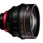 Canon CN-E20mm T1.5 L F, nuovo grandangolo 'cine'