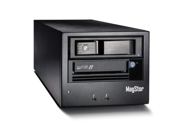 MagStor LTO-8 12 TB in una cartuccia