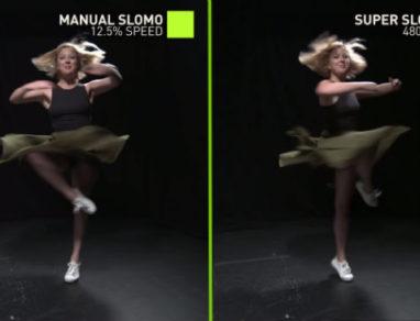 Nvidia Slow motion