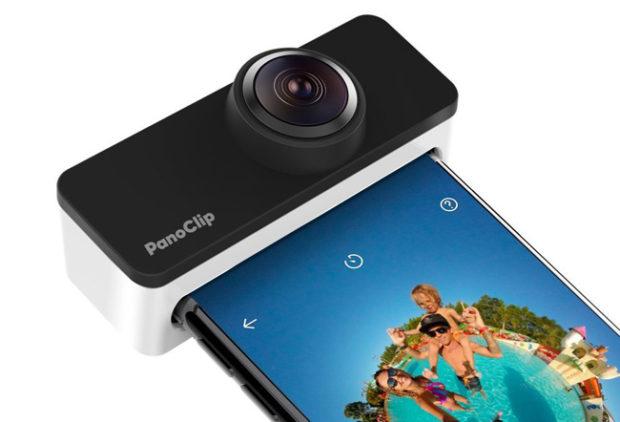 Panoclip trasforma l'iPhone in una camera 360°