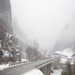 Strada di accesso a Gondo (Svizzera) © Claudio Cerasoli