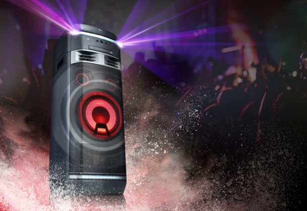 LG Xboom, altoparlanti per party e karaoke