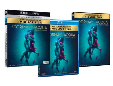 La Forma dell'Acqua DVD BD 4K