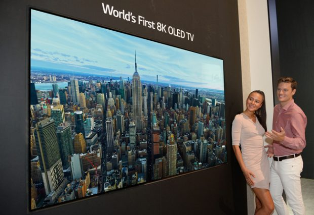 LG mette in mostra l'OLED 8K ad IFA