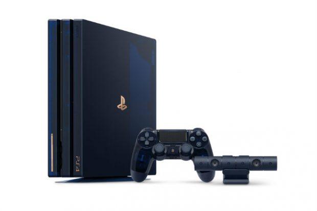 Sony festeggia 500 milioni di PlayStation con una PS4 Pro speciale