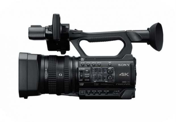 Sony NXcam HXR-NX200, 4K a 100 Mbps senza troppi fronzoli