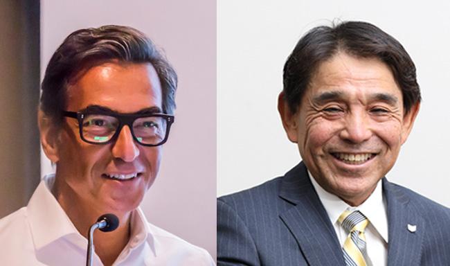 Alessandro Stanzani e Yuichi Ishizuka