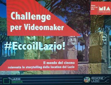 Challenge per Videomaker #EccoilLazio!