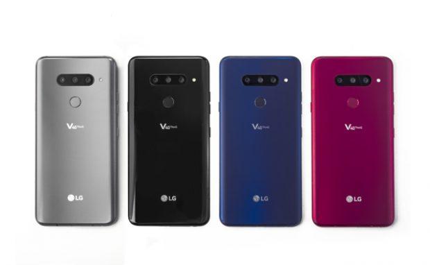 LG V40 ThinQ, lo smartphone con 5 fotocamere