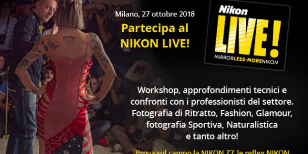 Nikon Live! Top Event, la Z-Series arriva a Milano