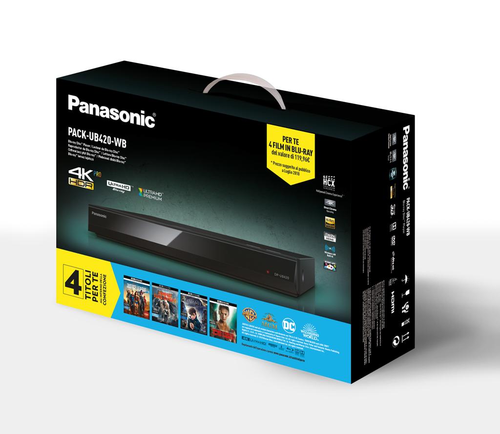 Panasonic Pack 420