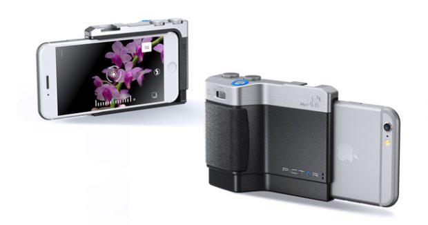Pictar One Camera grip trasforma lo smartphone in una fotocamera