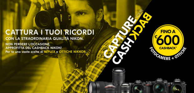 Nikon, capture your cashback