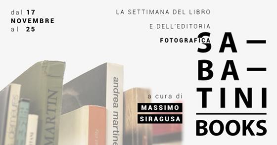 Sabatini Books, la settimana del libro fotografico