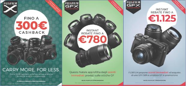Fujifilm, fra Cashback e Instant Rebate