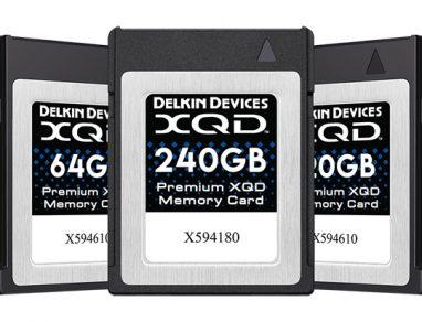 Delkin Device schede di memoria XQD