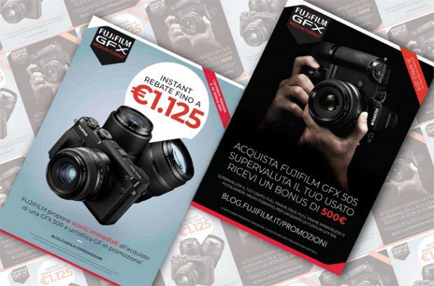 Fujifilm GFX in promozione