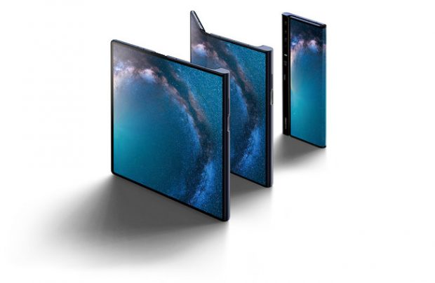 Huawei Mate X, pieghevole e 5G