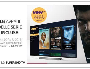 LG Smart TV promozione
