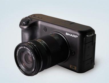 Sharp videocamera 8K