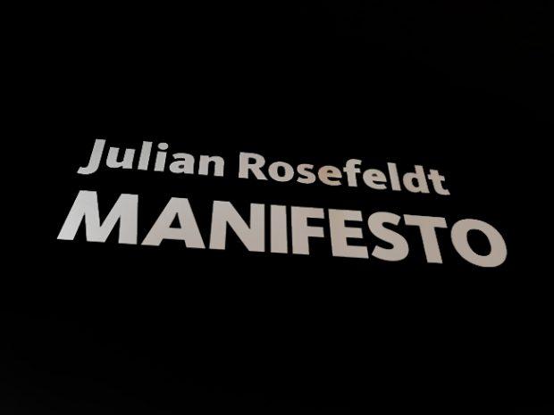 Manifesto, un viaggio multimediale nell'arte del Novecento