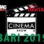 Il cinema fra storia, tecnica e creatività: arriva a Bari Cinema Show!