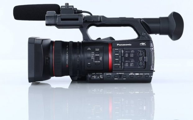 Panasonic AG-CX350 è il camcorder palmare 4K tuttofare