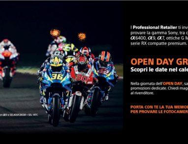 Sony Open Day fotografici