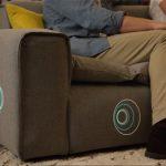Miliboo Smart Sofa, le canapé connecté