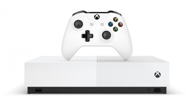 Xbox One S All-Digital Edition, la console Microsoft che dice addio ai dischi