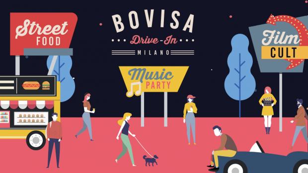 Bovisa Drive-in, il primo cinema 4.0, in auto e a piedi
