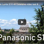 Panasonic Lumix S1R, test video 4K