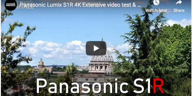 Panasonic Lumix S1R, test video 4K