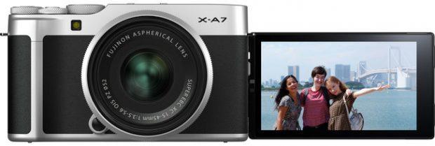 Fujifilm X-A7, schermo grande e video 4K fino a 30 fps