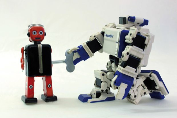 Io, Robotto, alla Fabbrica del Vapore